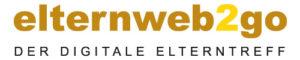 """Logo """"elternweb2go"""" - der digitale Elterntreff"""