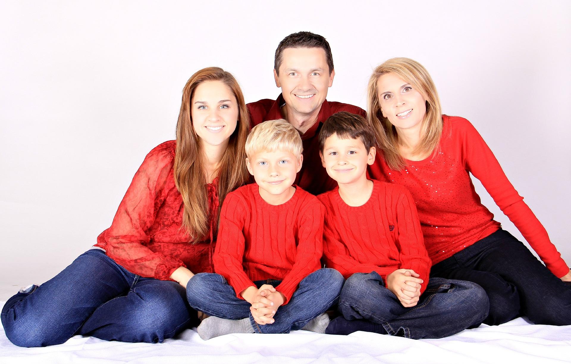 Familienzusammensein