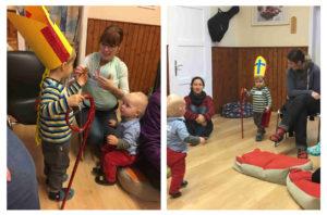Nikolaus-Feier im Kindergarten